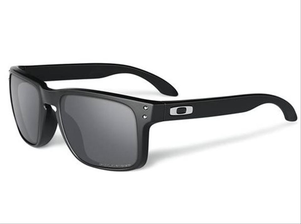9de8fb5bbb7 Oakley Polished Black Black Iridium Polarized Holbrook (Asian Fit)polished  Black  Oo9244-02 Sunglasses