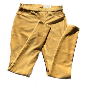 Hue Corduroy mustard gold Leggings