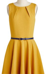 Closet London short dress Mustard on Tradesy