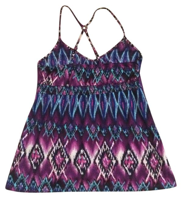 Preload https://img-static.tradesy.com/item/21080954/weavers-blue-and-purple-multicolor-sleeveless-tank-topcami-size-8-m-0-1-650-650.jpg