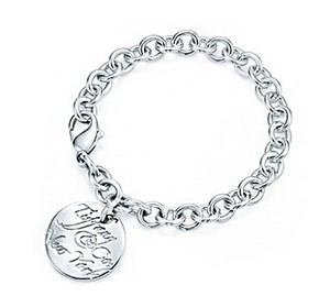 Tiffany & Co. TIFFANY & CO. ROUND CIRCLE WAVY NOTES BRACELET