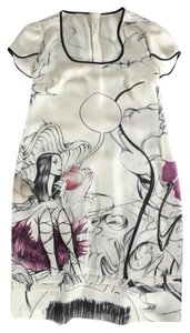 Prada short dress White Fairy Collection Silk Fairy on Tradesy