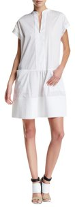 Vince short dress White Cotton Summer on Tradesy