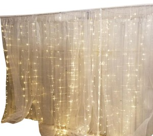 Lighted Wedding Backdrop