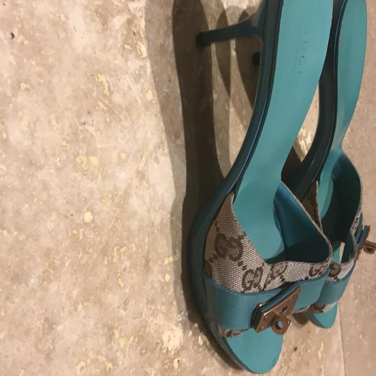 Gucci blue Pumps Image 1