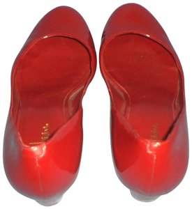 Cole Haan red Wedges
