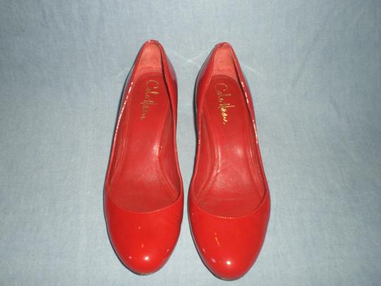 Cole Haan red Wedges Image 9
