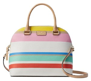 Kate Spade Satchel in dune stripe