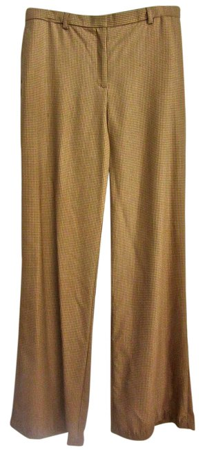 Item - Mustard Lightweight Houndstooth Wool Pants Size 8 (M, 29, 30)