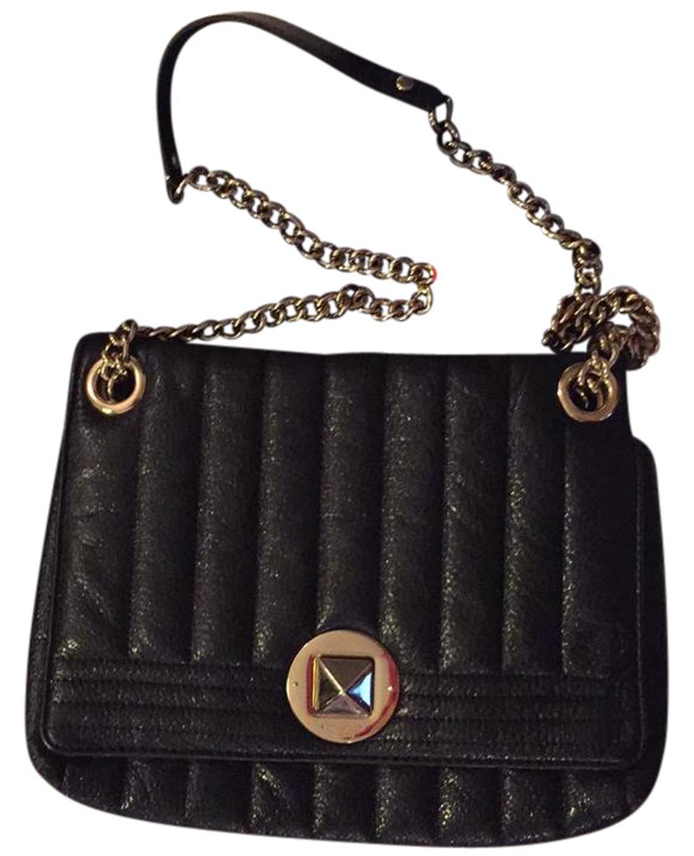 Kate Spade Quilted Purse Black Leather Shoulder Bag Tradesy