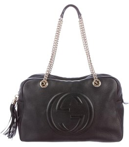 Gucci Soho Leather Designer Shoulder Bag