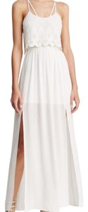 white Maxi Dress by Mystic