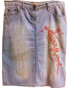 ei the bird jeans Skirt