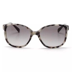 Prada Gray and Black Speckled Sunglasses