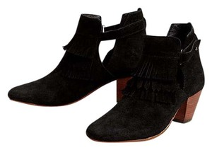 Anthropologie Black Boots
