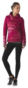Lululemon Down Right Cozy Pullover zip-up Jacket Puffer Berry Rumble