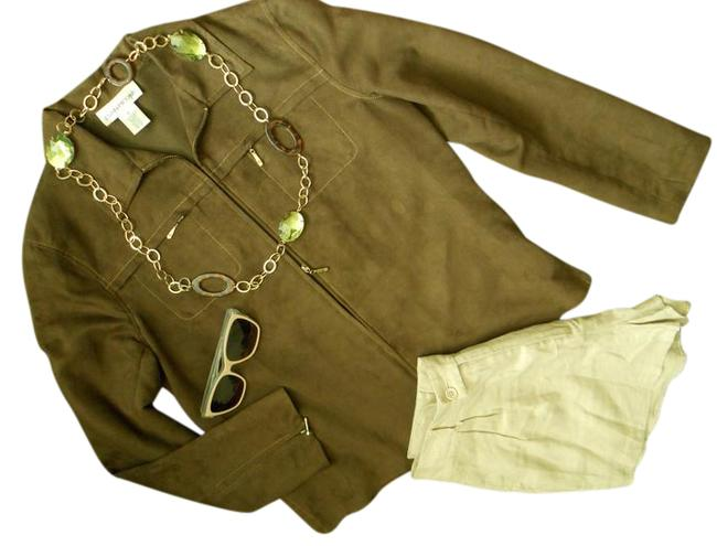 Preload https://img-static.tradesy.com/item/21081721/evan-picone-chestnut-brown-suede-look-with-zipper-details-jacket-size-6-s-0-2-650-650.jpg