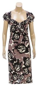 Diane von Furstenberg short dress Gray/Multicolor on Tradesy
