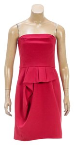 Lela Rose short dress Red on Tradesy