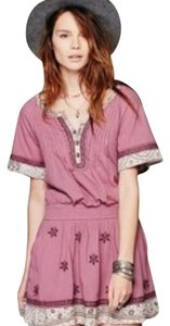 Free People short dress dusty hyac on Tradesy
