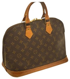 Louis Vuitton Alma Tote Handbag Speedy Satchel in brown