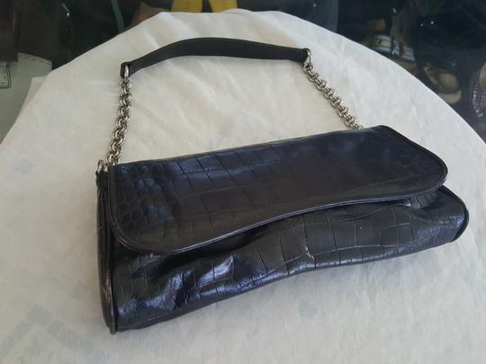 Ann Taylor Brown Clutch Image 4