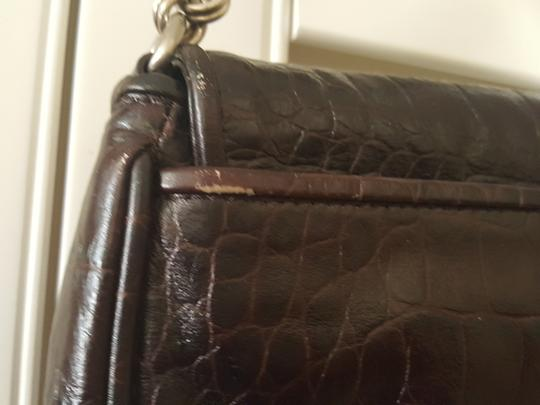 Ann Taylor Brown Clutch Image 5