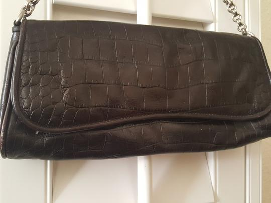 Ann Taylor Brown Clutch Image 8