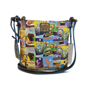 Dooney & Bourke And Letter Carrier Food And Wine Epcot Cross Body Bag
