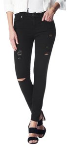 7 For All Mankind 7fam Bair Ankle Skinny Skinny Jeans-Dark Rinse