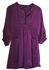 Nanette Lepore short dress plum, purple, eggplant on Tradesy