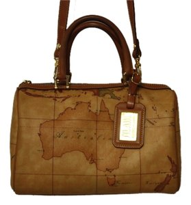 Alviero Martini 1a Prima Satchel in Browns