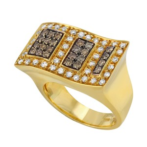 Saya Saya 18k Yellow Gold & 1.25 Cttw Two Tone Diamonds (12759)