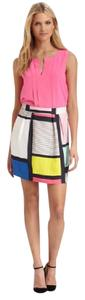 Kate Spade Barry Color-block Skirt Multi-Color