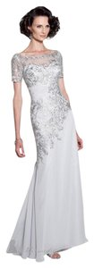 Cameron Blake Chiffon Wedding Formal Dress