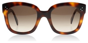 "Céline NEW Celine CL 41805 ""New Audrey"" Havana Brown Sunglasses"