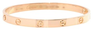 Cartier Cartier Love Bracelet Rose Gold Size 18