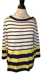 Kate Spade Striped Classic Comfortable Lightweight Sweater