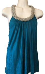 N°21 Date Night Cocktails Embellished Party green Halter Top