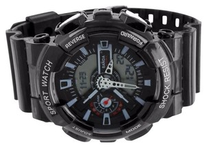 Other Shock Resistant Black Watch Digital-Analog Sports Edition Band