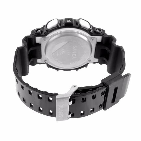 Other Shock Resistant Black Watch Digital-Analog Sports Edition Band Image 1