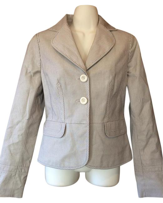 Ann Taylor LOFT Jacket beige and brown Blazer Image 0