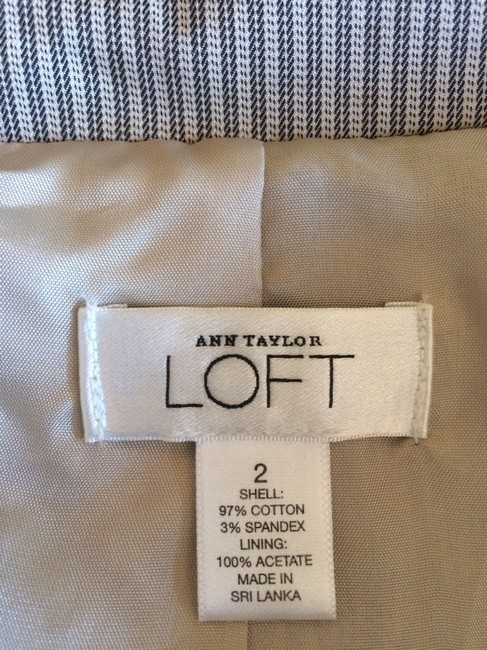 Ann Taylor LOFT Jacket beige and brown Blazer Image 5