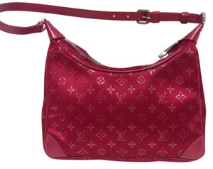 Louis Vuitton Silk Monogram Shoulder Bag