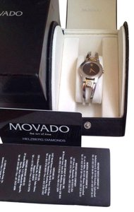 ESQ Movado Movado Two-tone Diamond watch for women