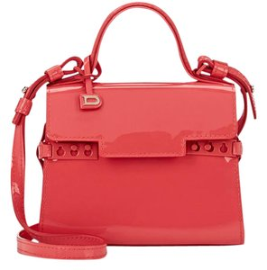 Delvaux Satchel in Rose Candy Pink