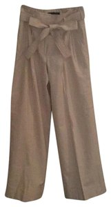 Robert Rodriguez Wide Leg Pants Ecru stripe