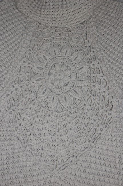 vfish Embroidery Embroidered Woven Crochet Sweater Image 1