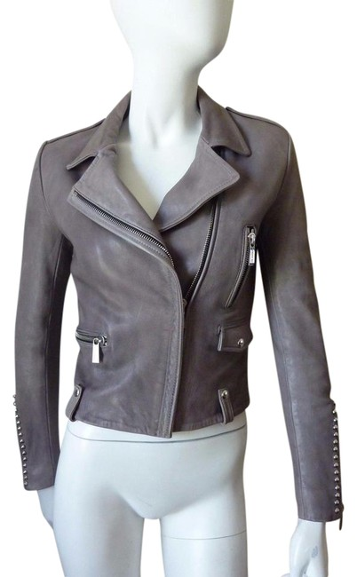 Preload https://img-static.tradesy.com/item/21083765/barbara-bui-gray-long-sleeve-leather-38-motorcycle-jacket-size-0-xs-0-2-650-650.jpg