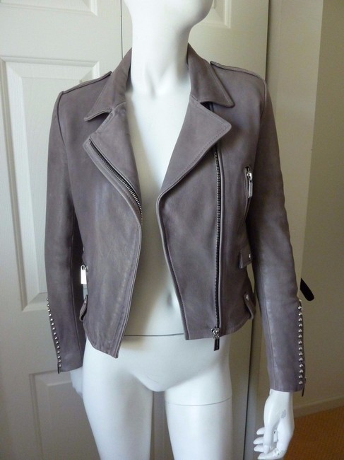 Barbara Bui Motorcycle Jacket Image 4